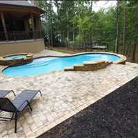 Terrell North Carolina Custom Inground Concrete Pools from CPC Pools Call 704-799-5236