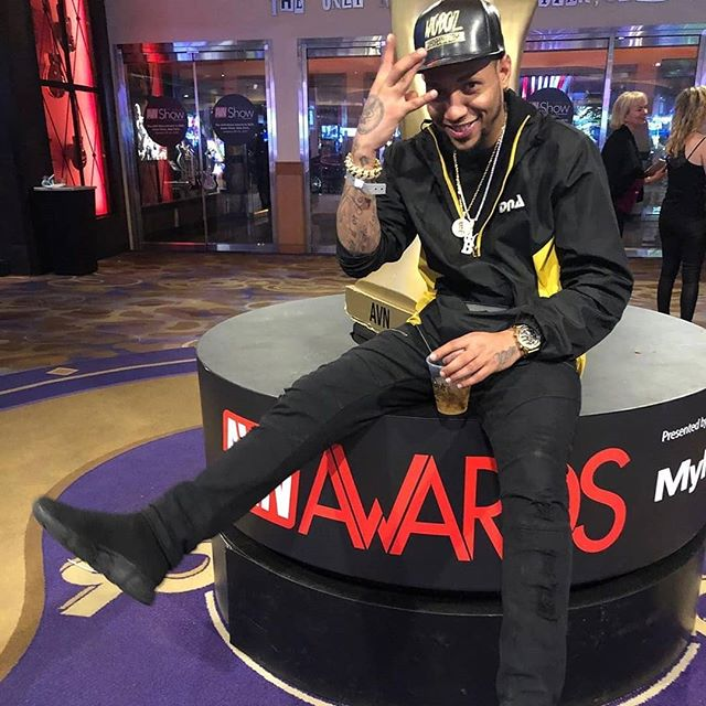 What's good fam, Hip Hop Bling with the fresh ice at AVN in Las Vegas with Macana Man