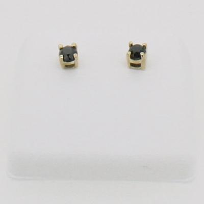Real Diamond Stud Earrings