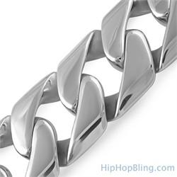 Large Stainless Steel Bracelet