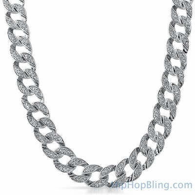 Cuban Miami Iced Out Chain