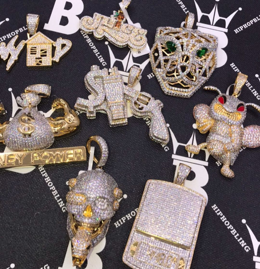 Limited edition pendant collection at Hip Hop Bling, shop today at hiphopbling.com