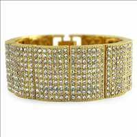 Gold Hip Hop Bracelets