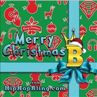 Merry Christmas to you and your loved ones, hope you have a loving, prosperous 2020 - Hip Hop Bling