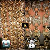 Which links do you like best? Chain game on point, we'd go with the Cuban chain - Hip Hop Bling TV