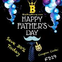 Happy Father's Day to all the real G's out there - Hip Hop Bling