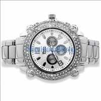 Hip Hop Silver Watch