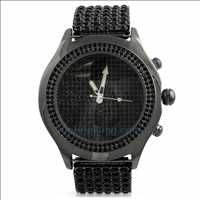 Black Bling Bling Watches