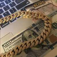 Diamond Coated Bling Chains For Sale Are Dope AF