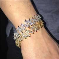 Crown of thorns bracelet from Hip Hop Bling, home of the dopest iced out jewelry online