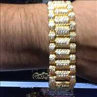 Gold bracelets diamond bracelets and the best bling bling from Hip Hop Bling