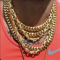 Gold chains dope chains order your own drippin piece from Hip Hop Bling