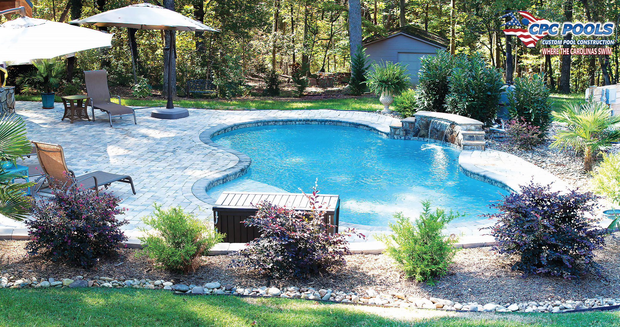 Custom Inground Concrete Swimming Pool in Troutman NC Call ...