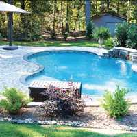Custom Inground Concrete Swimming Pool in Troutman NC Call CPC Pools at 704-799-5236