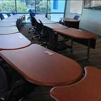 Custom Collaboration Learning Tables For The Classroom from SMARTdesks 800-770-7042