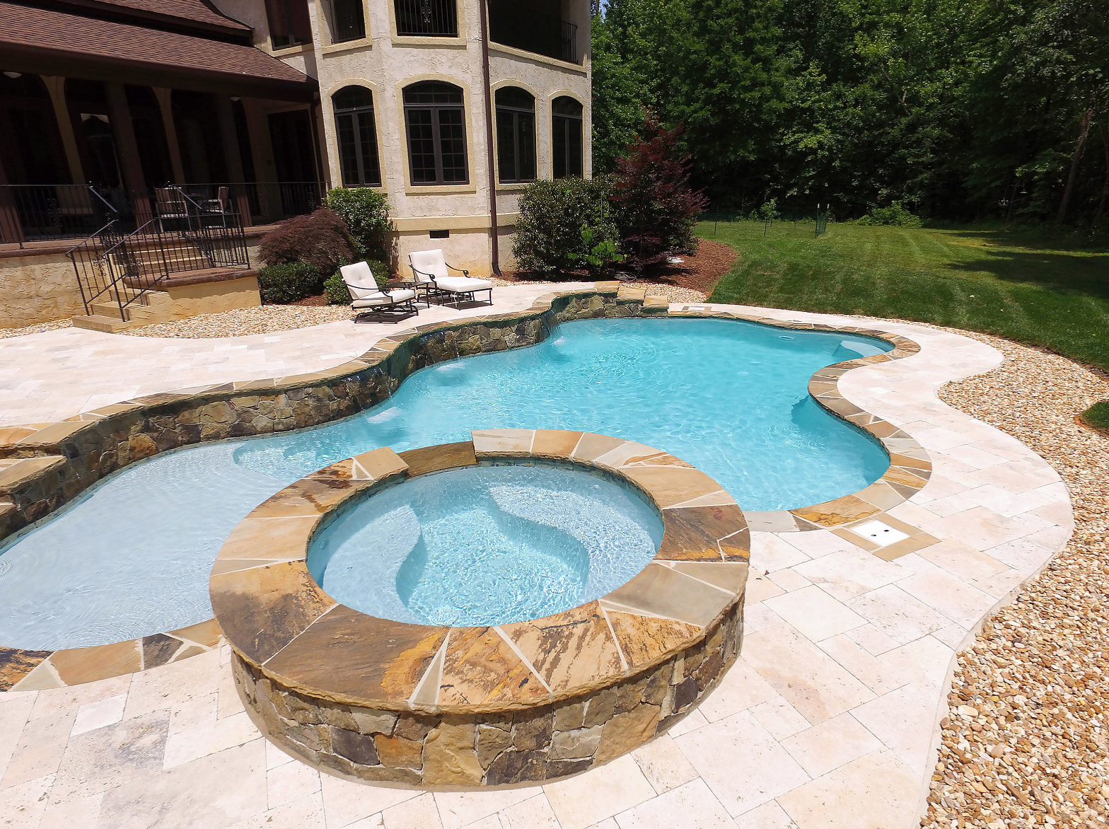 Learn how concrete swimming pools are superior to for Concrete swimming pool