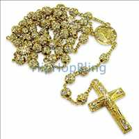 Gold Hip Hop Rosary