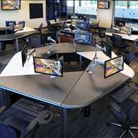 SMARTdesks Builds High End Custom Ergonomic Classroom Furniture for your School Call 800-770-7042