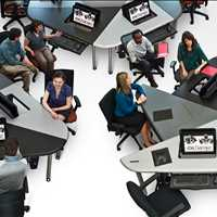 Enhance Your School with Ergonomic Classroom Furniture for your School Call 800-770-7042 -SMARTdesks
