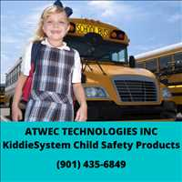 ATWEC Technologies KiddieSystem Child Safety Products for Transportation 901-435-6849