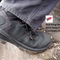 Red Wing Safety Toe Footwear