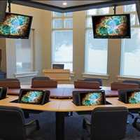 Best Custom Collaboration Conference Tables SMARTdesks 800-770-7042