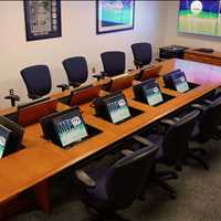 Multi Use Custom Collaboration Conference Tables SMARTdesks 800-770-7042