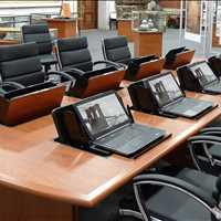 Superior Custom Collaboration Conference Tables SMARTdesks 800-770-7042