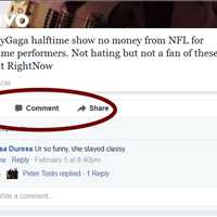 Lady Gaga Halftime Performance Social Interactions on Facebook