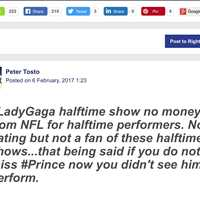 Social Engagement on Lady Gaga Findit Post