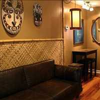 Relax At Follynesia A Tiki Style Condo Vacation Rental Located at 16 Center Street Unit 2 Folly Beac