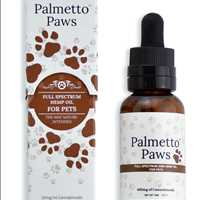 Palmetto Paws Full Spectrum Hemp Oil For Pets 843-331-1246