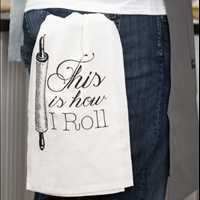 Shop Funny Hang Tight Towels at Twisted Wares Call 214-491-4911 For Wholesale Pricing