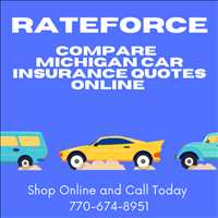 Low Car Insurance Quotes Michican RateForce 770-674-8951