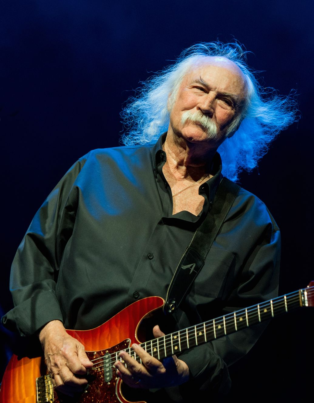 David Crosby hit a jogger in California while driving 55 miles per hour