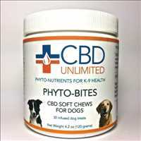 100% Certified Hemp CBD Dog Treats Phyto-Bites From CBD Unlimited Call 480-999-0097 Today