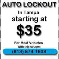 Locksmith Service Tampa Bay for Vehicles