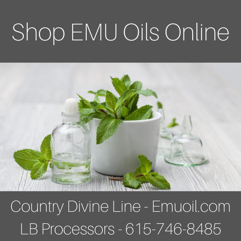 AEA Certified EMU Oils For Sale Online LB Processors 615-746-8485