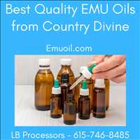 Best Quality EMU Oils For Sale Online LB Processors 615-746-8485