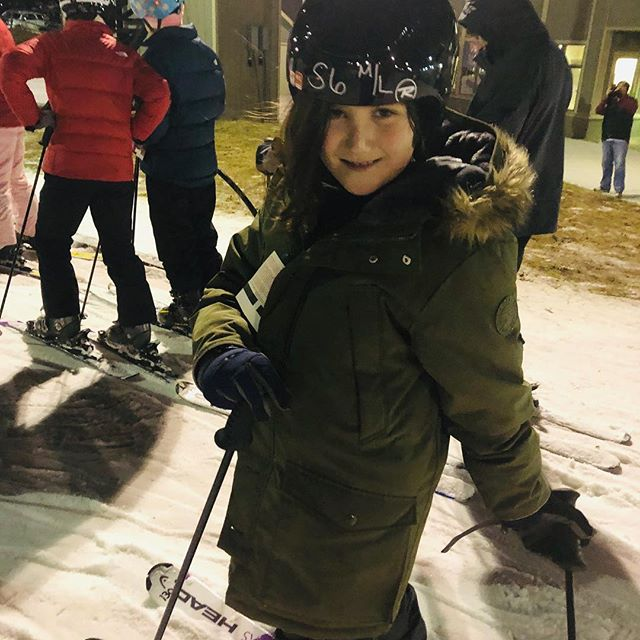 Night Skiing! Good memories, and good times