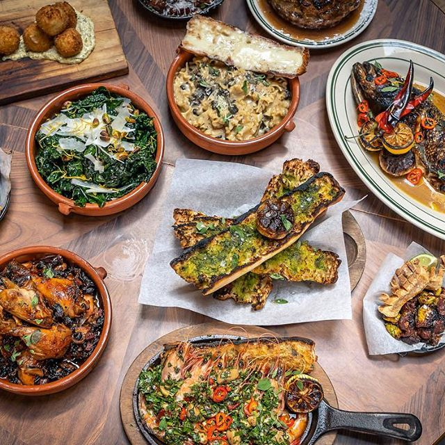 We really know how to put on a spread at Antique Bar and Bakery, come on over!