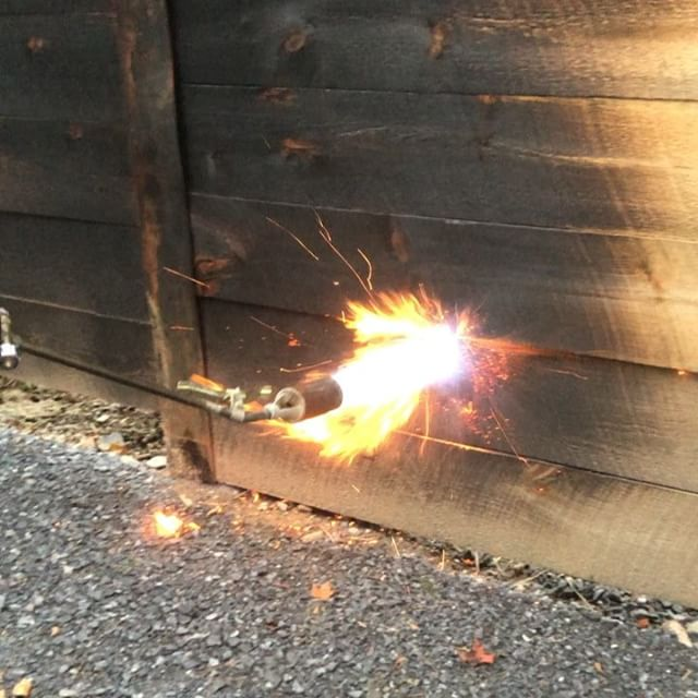 Playing with fire...a fun fulfilling activity