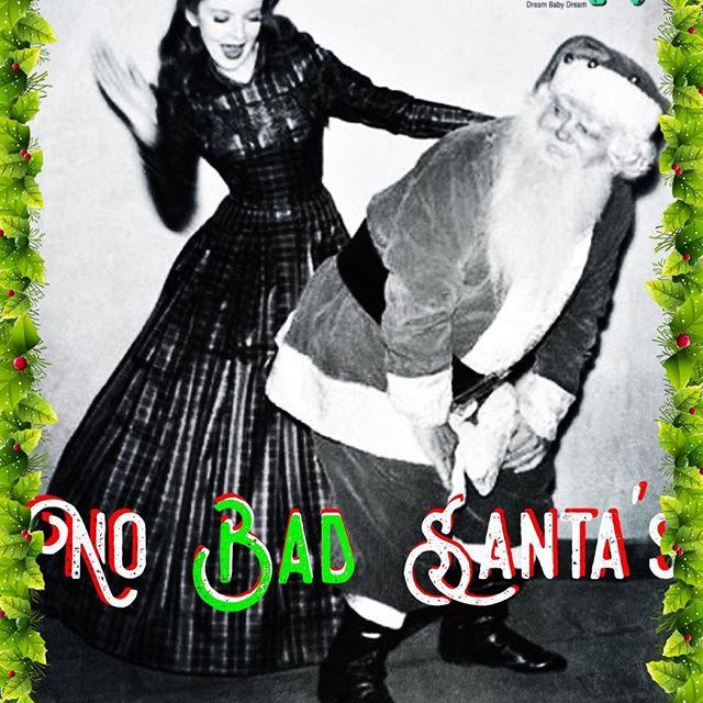 NO bad santas at Antique Bar and Bakery!