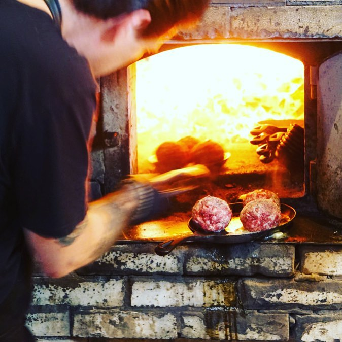 Forged food. Come. Watch me ride the horse- Chef Paul Gerard