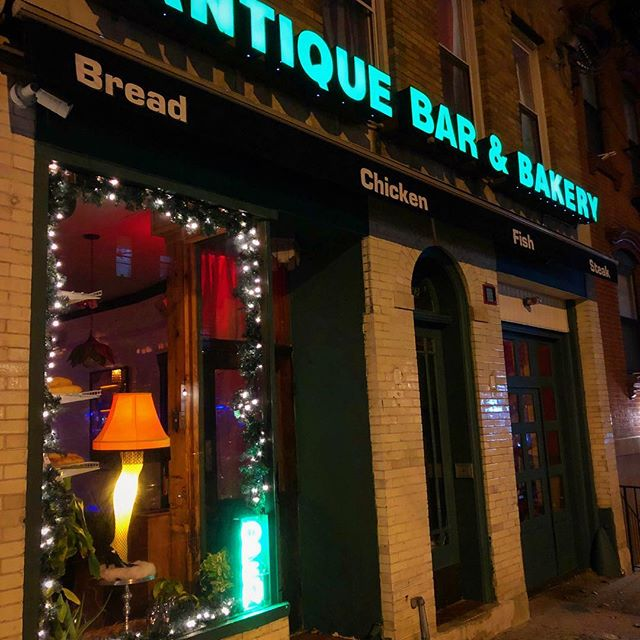 Antique Bar and Bakery in all its glory, swing on by and feel the fire!