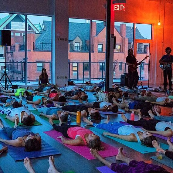 Yoga On The Terrace, Be There!