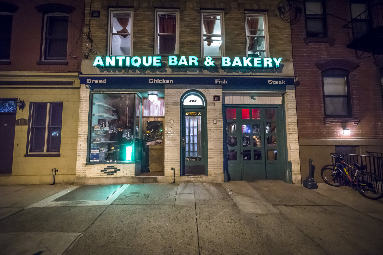 Anitque Bar and Bakery Hoboken New Jersey Stop By