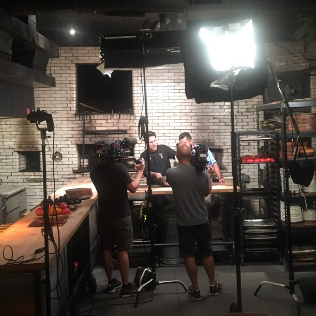 We're shooting a super secret episode, come and join us at Antique Bar and Bakery