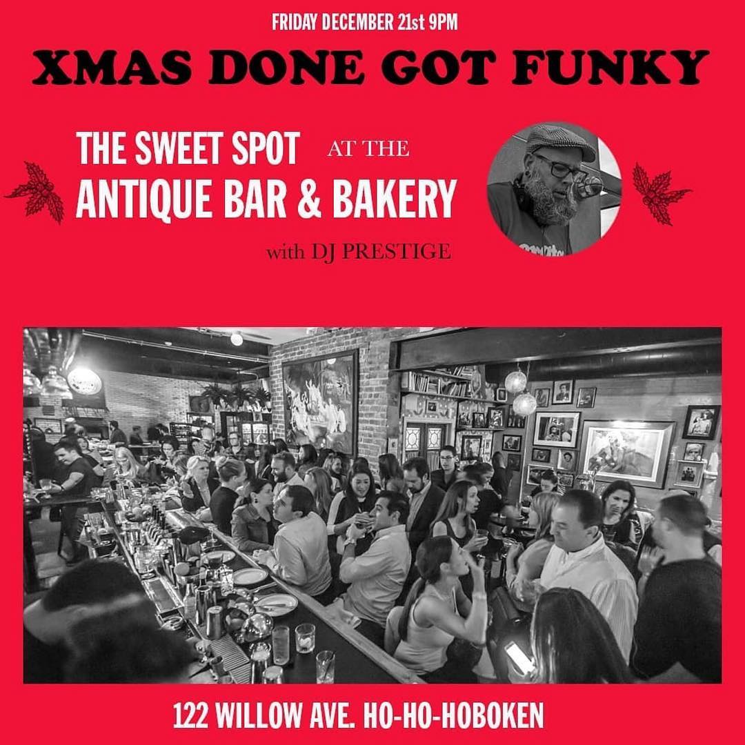 Get funky in Hoboken at Antique Bar and Bakery!