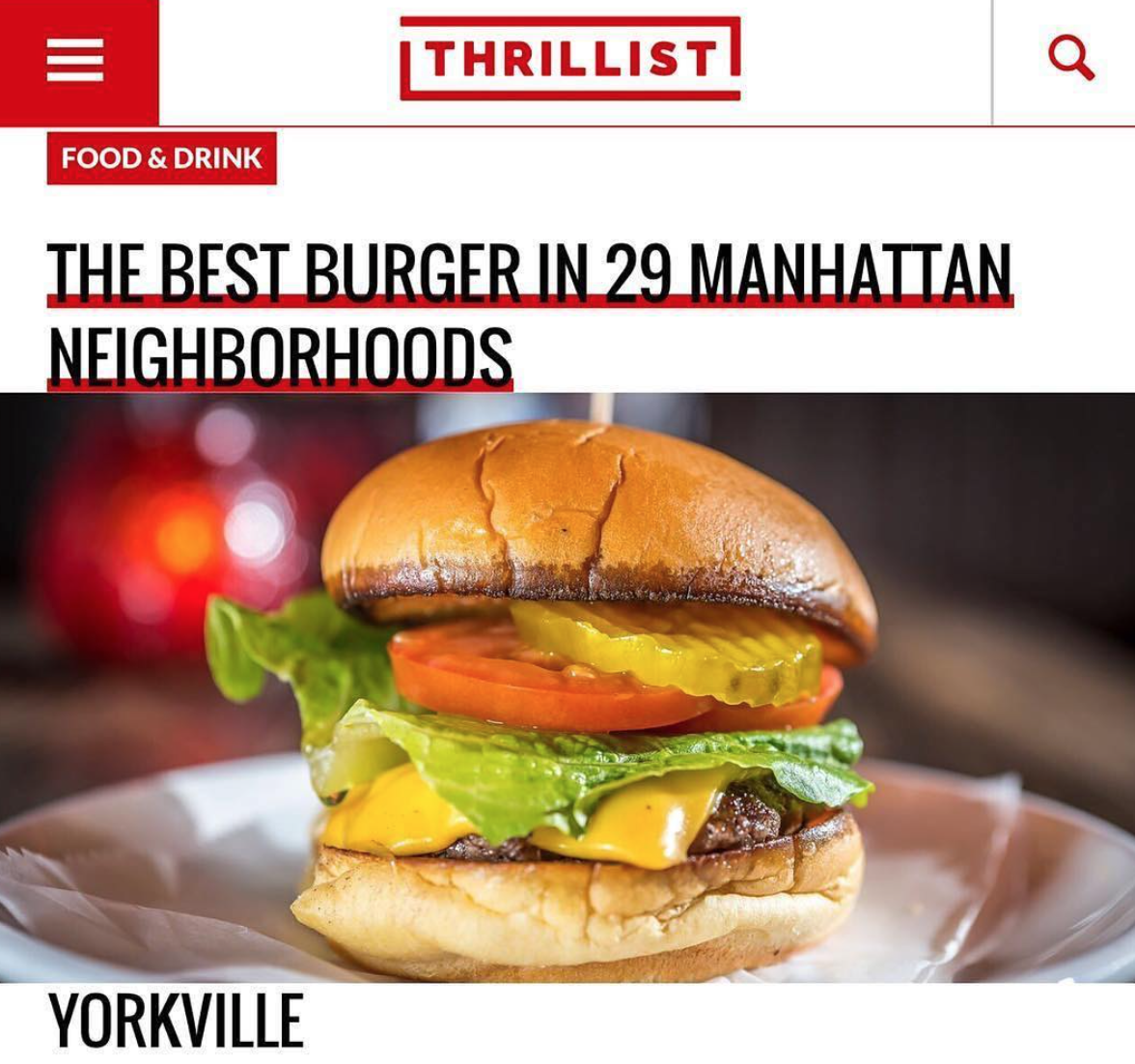 Come For The Burgers Stay For The Spirits At Ethyls Alcohol And Food in UES Chef Paul Gerard